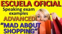 Exámenes Escuela Oficial de Idiomas EOI 2010 MAD ABOUT SHOPPING 2