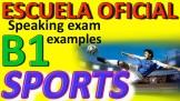 Exámenes Escuela Oficial de Idiomas EOI 2010 SpORts 2